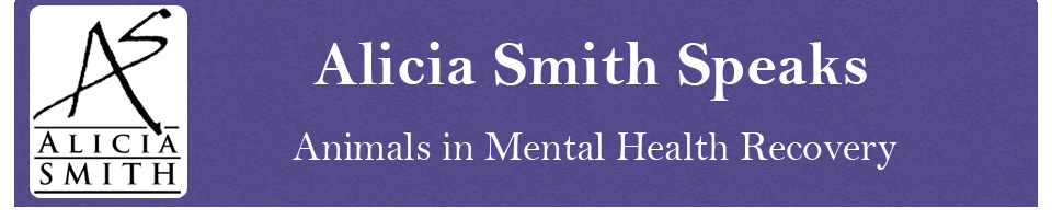 Alicia Smith Speaks Animals in Mental Health Recovery